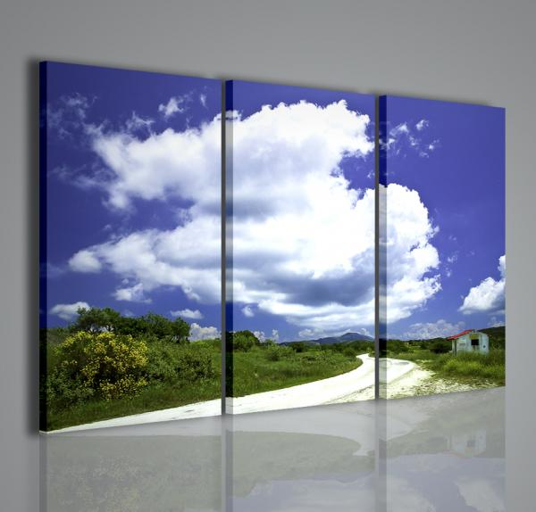 Quadri moderni paesaggio stampe su tela arredamento casa for Stampe da parete